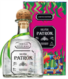 Patron Tequila Silver Mexican Heritage Tin